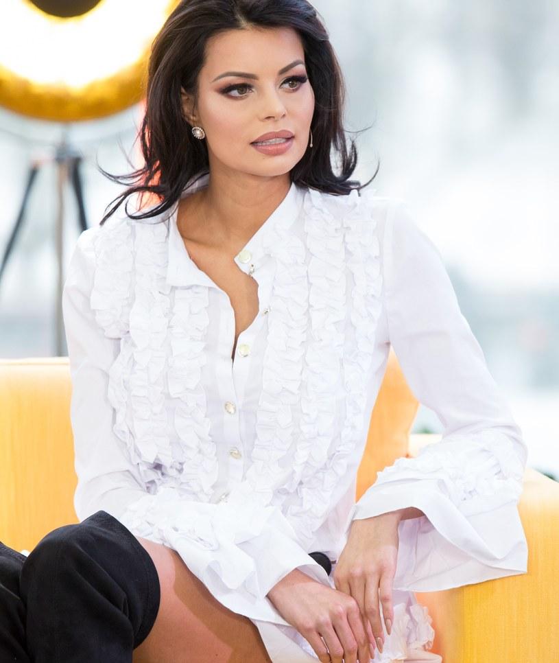 Justyna Gradek już tak nie wygląda! Teraz jest... blondynką! /ForumGwiazd.com.pl   /Agencja FORUM