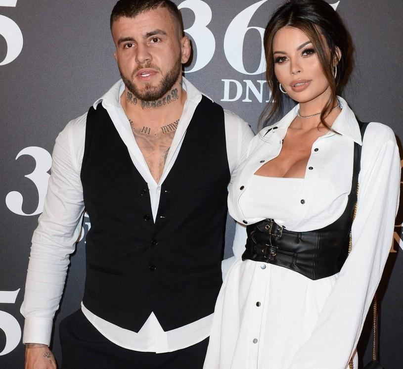 Justyna Gradek na zdjęciu ze swoim byłym mężem /Tricolors /East News