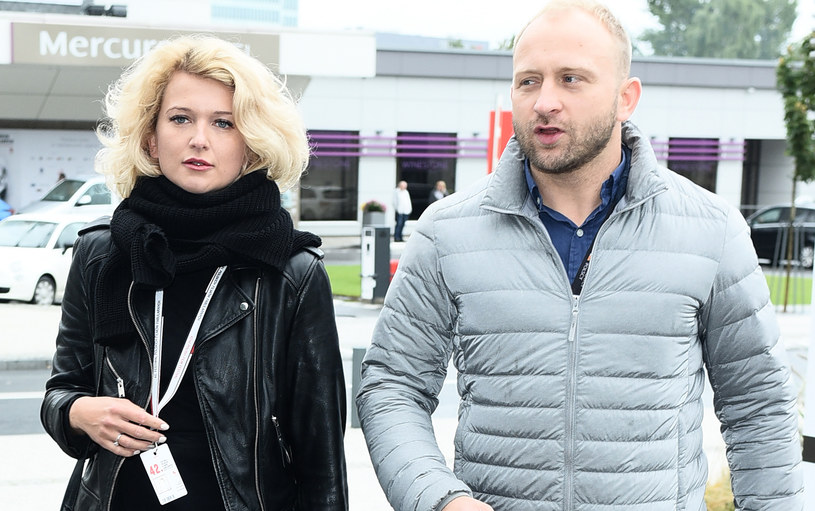 Justyna Jeger-Nagłowska i Borys Szyc /Andras Szilagyi /MWMedia
