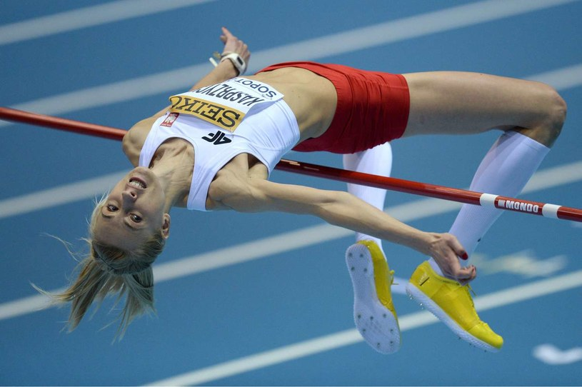 Justyna Kasprzycka na Halowym Mistrzostwach Świata w Sopocie zajęła 4. miejsce /AFP