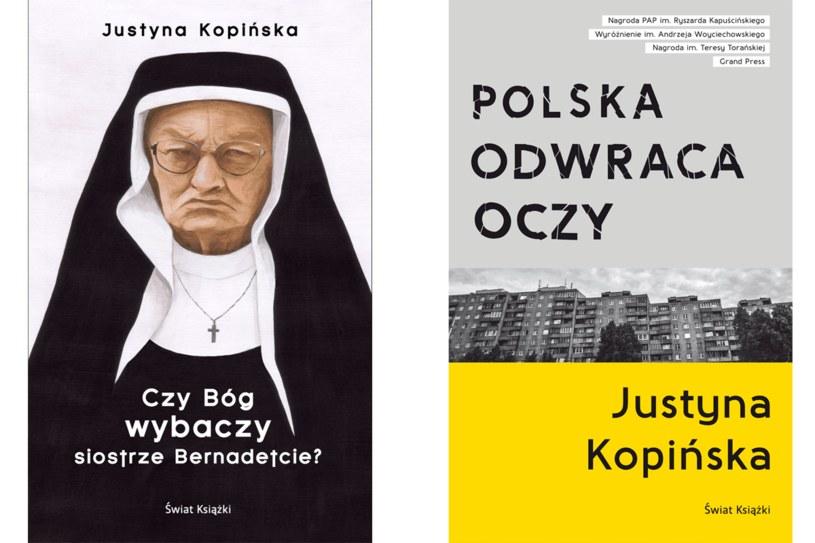 """Justyna Kopińska, """"Czy Bóg wybaczy sistrze bernadetcie?"""", """"Polska odwraca oczy"""" /Styl.pl/materiały prasowe"""