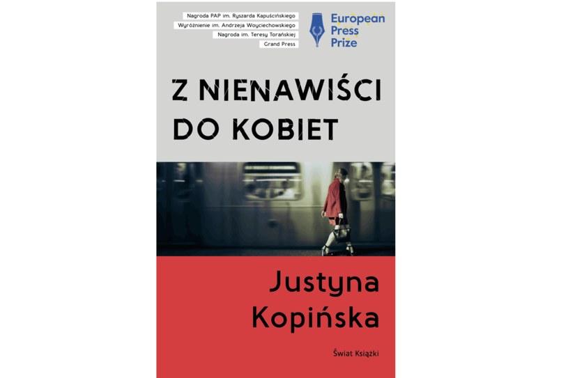 """Justyna Kopińska,  """"Z nienawisci do kobiet"""" /Styl.pl/materiały prasowe"""