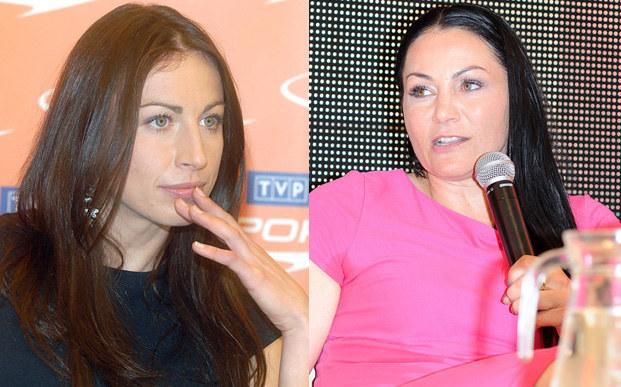 Justyna Kowalczyk, Agnieszka Rylik /Andras Szilagyi /MWMedia