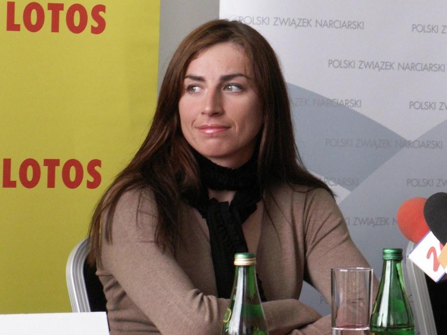 Justyna Kowalczyk  /Edyta Sienkiewicz /RMF FM