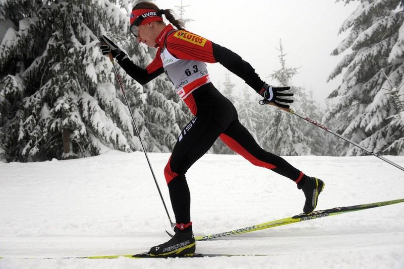 Justyna Kowalczyk ciężko trenuje przed nowym sezonem /AFP