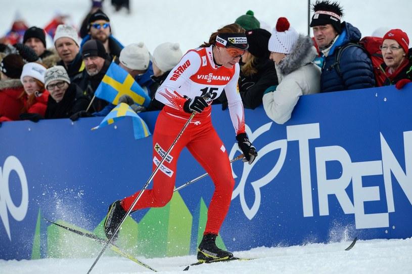 Justyna Kowalczyk ciężko trenuje, żeby znów odnosić sukcesy /AFP