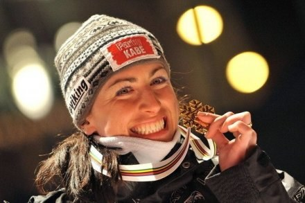 Justyna Kowalczyk dostarczyła nam mnóstwo radości w 2009 roku /AFP