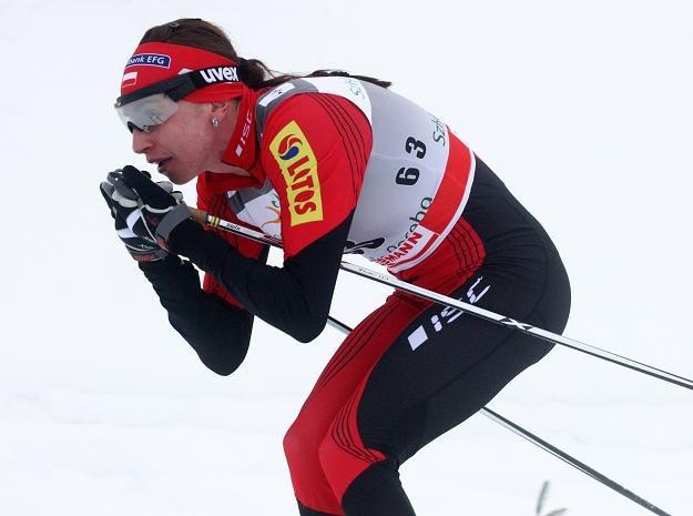 Justyna Kowalczyk. Fot. Grzegorz Momot. /INTERIA.PL/PAP