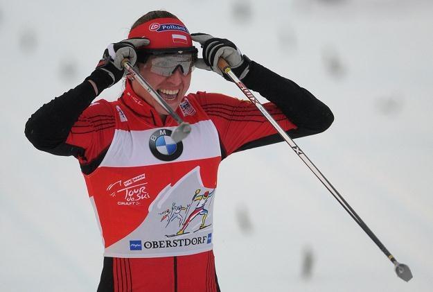 Justyna Kowalczyk imponuje formą podczas Tour de Ski /AFP