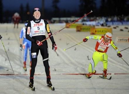 Justyna Kowalczyk jest w dobrej formie /AFP