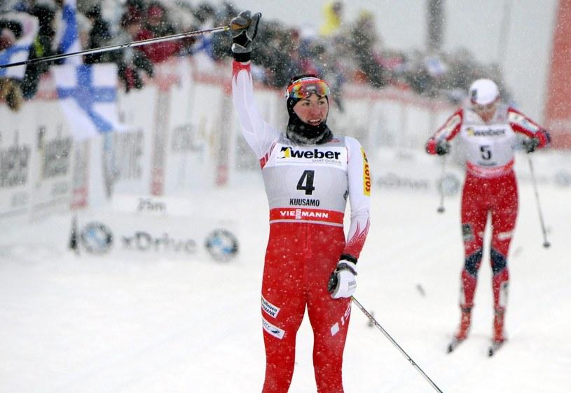 Justyna Kowalczyk lubi startować w Kuusamo /AFP
