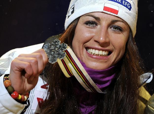 Justyna Kowalczyk ma w dorobku już pięć medali mistrzostw świata /AFP