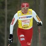 Justyna Kowalczyk na lodowcu w Alpach