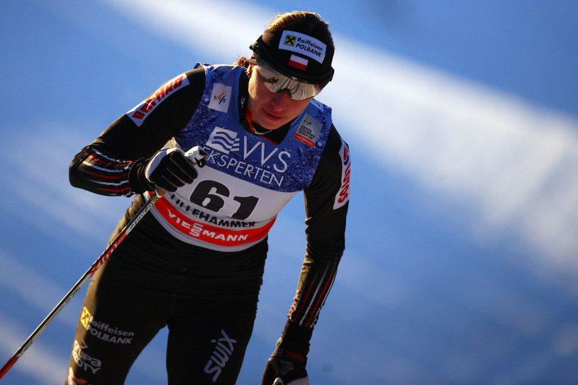 Justyna Kowalczyk na trasie w Lillehammer /Christophe Pallot /Getty Images