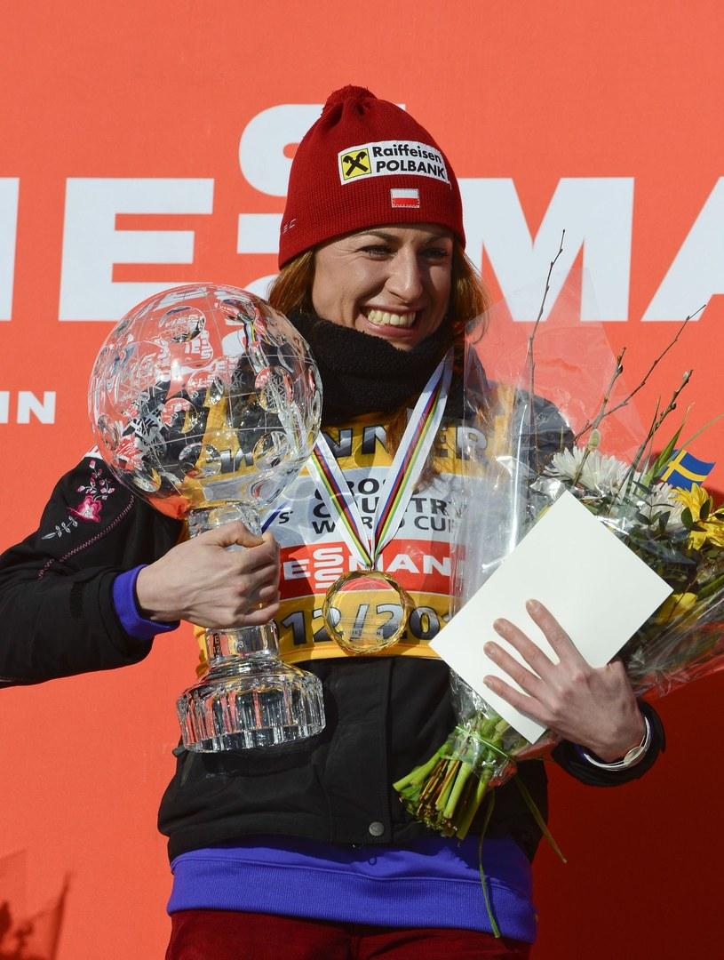 Justyna Kowalczyk, nasza gwiazda w biegach narciarskich /AFP