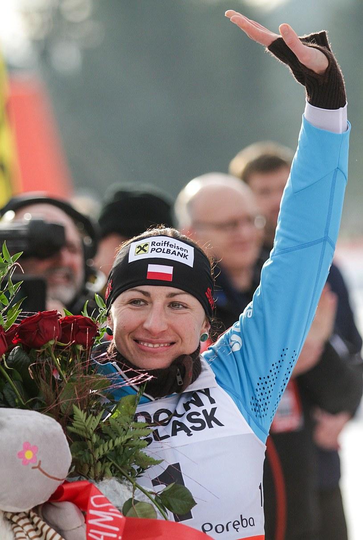 Justyna Kowalczyk - nasza nadzieja na medale igrzysk w Soczi /AFP