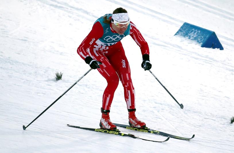 Justyna Kowalczyk odpadła w ćwierćfinale sprintu /PAP