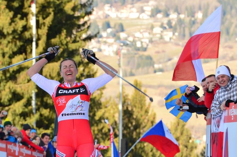 Justyna Kowalczyk po raz czwarty z rzędu wygrała Tour de Ski /AFP
