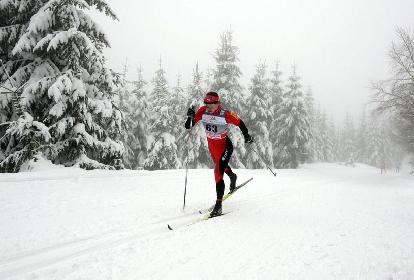 Justyna Kowalczyk podczas zawodów Pucharu Świata w Szklarskiej Porębie /AFP