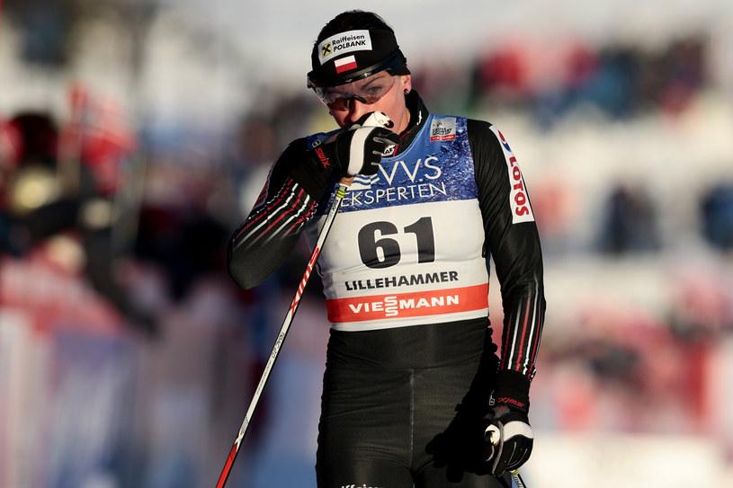 Justyna Kowalczyk podczas zawodów w Lillehammer /AFP
