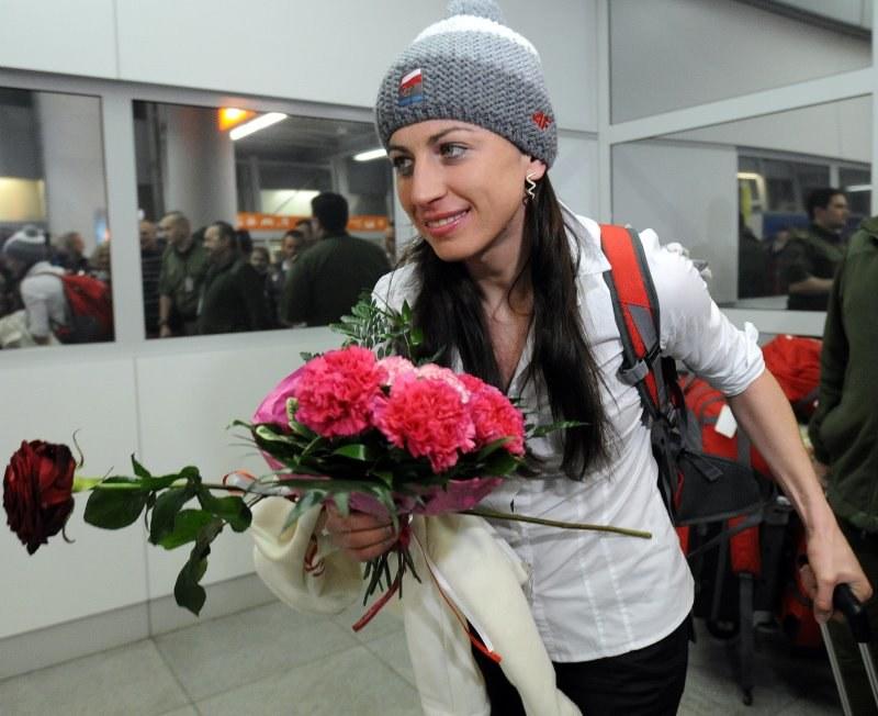 Justyna Kowalczyk, polska dwukrotna mistrzyni olimpijska w biegach narciarskich fot: Grzegorz Jakubowski /PAP
