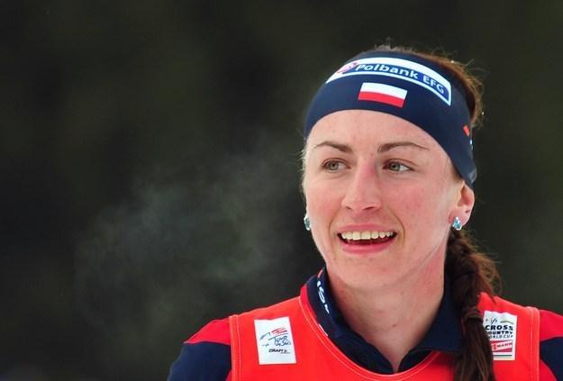 Justyna Kowalczyk, polska mistrzyni olimpijska /AFP