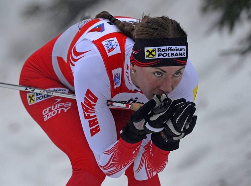 Justyna Kowalczyk ruszy w pościg za rywalkami /AFP