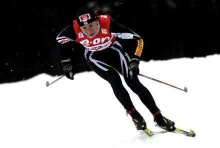 Justyna Kowalczyk stanęła na najwyższym stopniu podium /AFP