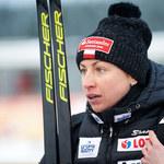 Justyna Kowalczyk trenując, znalazła zimę w środku lata