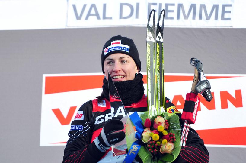 Justyna Kowalczyk trzy razy z rzędu wygrała Tour de Ski /AFP