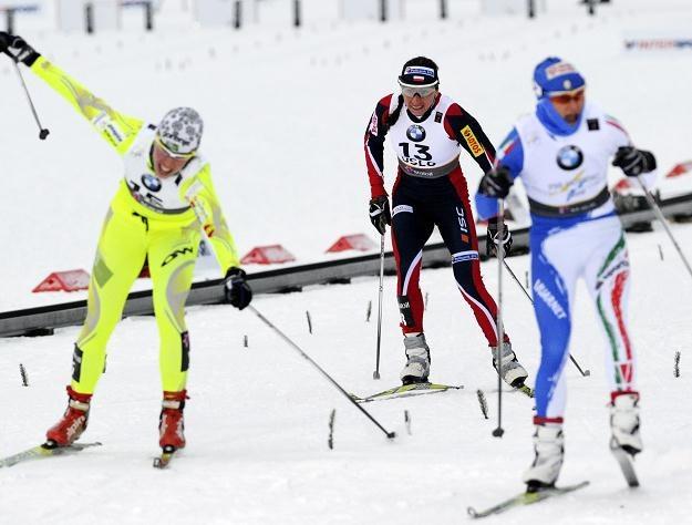 Justyna Kowalczyk ukończyła sprint na 5. miejscu Fot. Grzegorz Momot /PAP