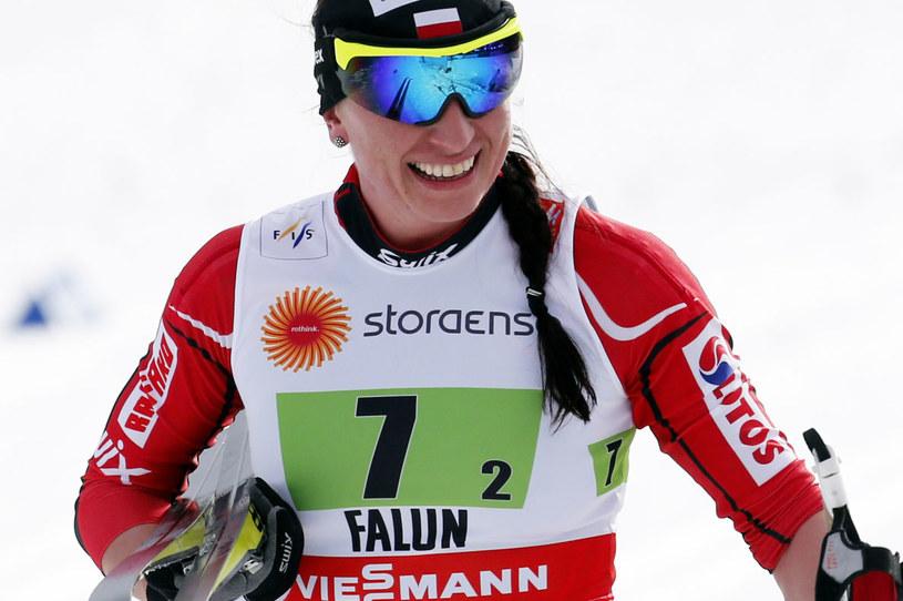 Justyna Kowalczyk w Falun /Grzegorz Momot /PAP