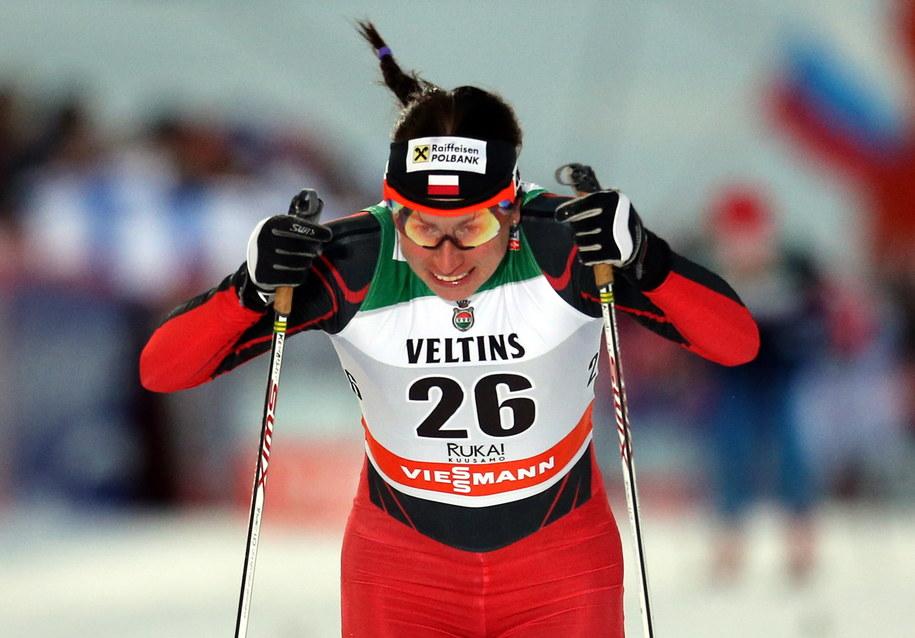 Justyna Kowalczyk w półfinale sprintu /Grzegorz Momot /PAP