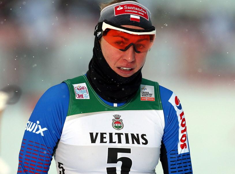 Justyna Kowalczyk w trakcie biegów w Kuusamo /Grzegorz Momot /PAP