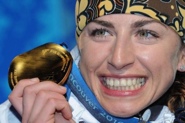 Justyna Kowalczyk w Vancouver zdobyła aż trzy medale /AFP