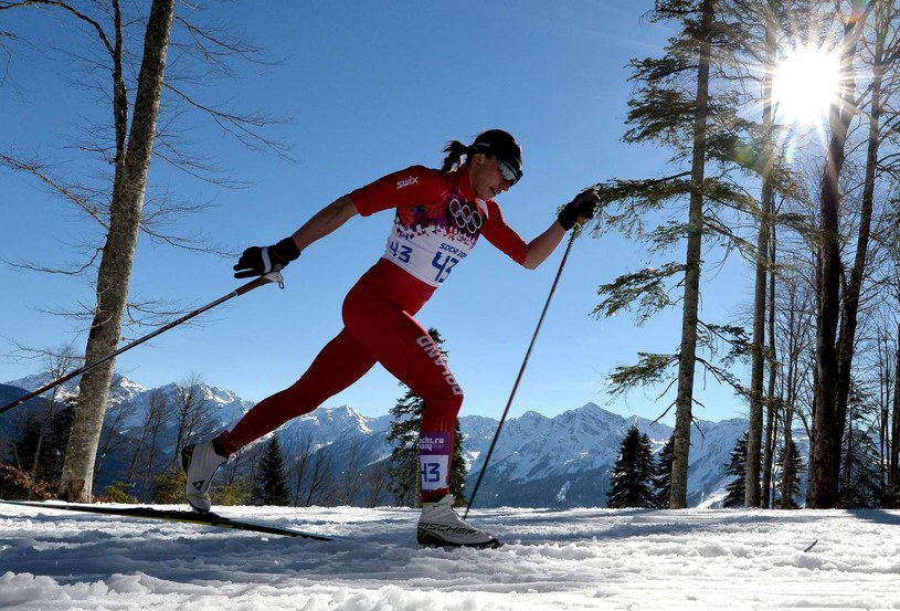 Justyna Kowalczyk wraca na trasy /AFP