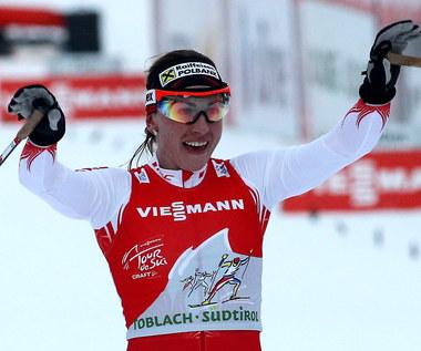 Justyna Kowalczyk wygrała czwarty etap Tour de Ski