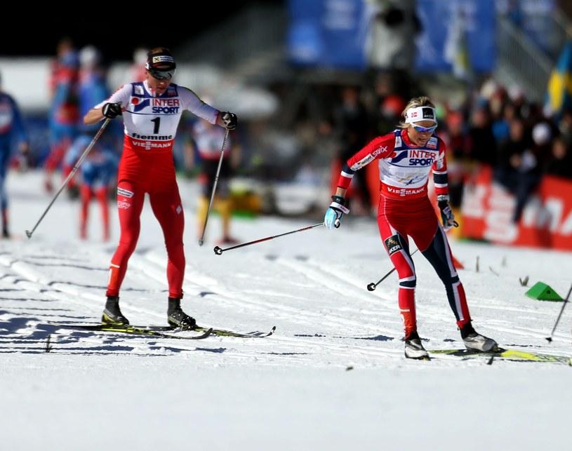 Justyna Kowalczyk (z lewej) i Therese Johaug /Christophe Pallot /Getty Images