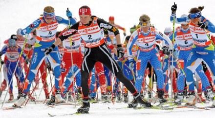 Justyna Kowalczyk zajęła 11. miejsce /AFP