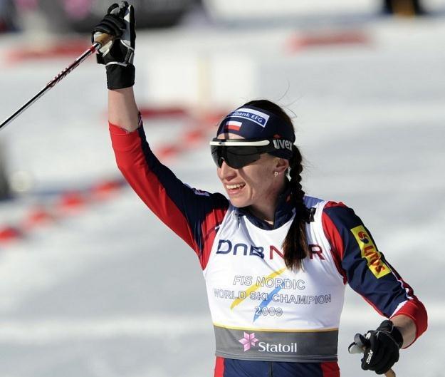 Justyna Kowalczyk zakończy sezon w Szwecji /AFP