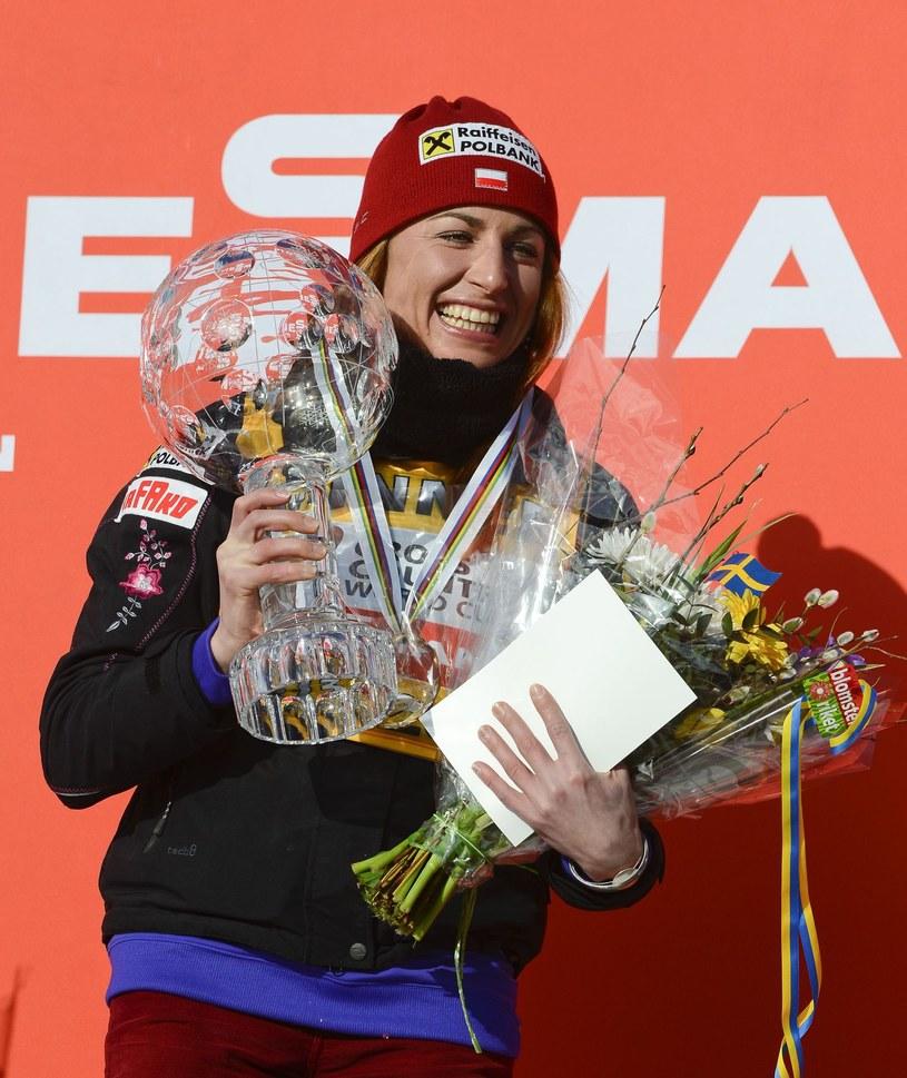 Justyna Kowalczyk zakończy sezon z sukcesami? /AFP