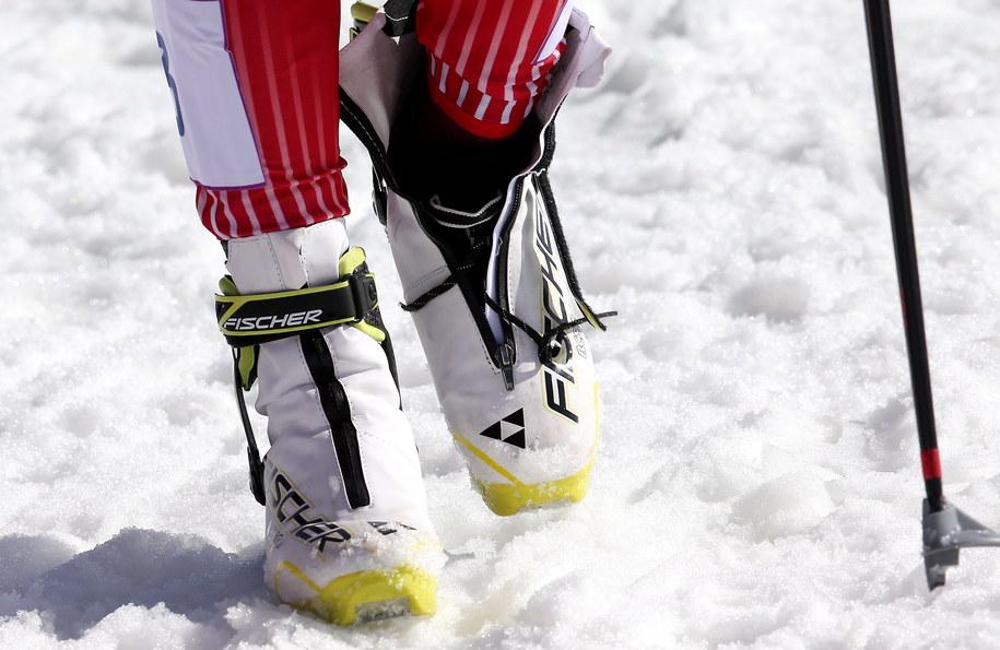 Justyna Kowalczyk zeszła z trasy biegu narciarskiego na 30 km techniką dowolną w Soczi /Grzegorz Momot /PAP