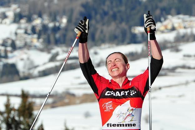 Justyna Kowalczyk zmagała się ostatnio z dużym bólem podczas zawodów. /AFP