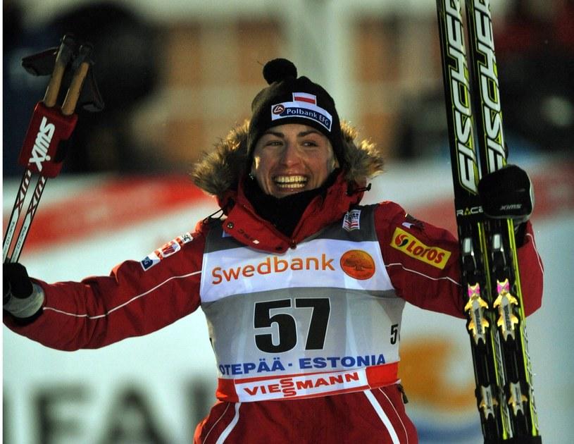 Justyna Kowalczyk znów wygrywa! /AFP