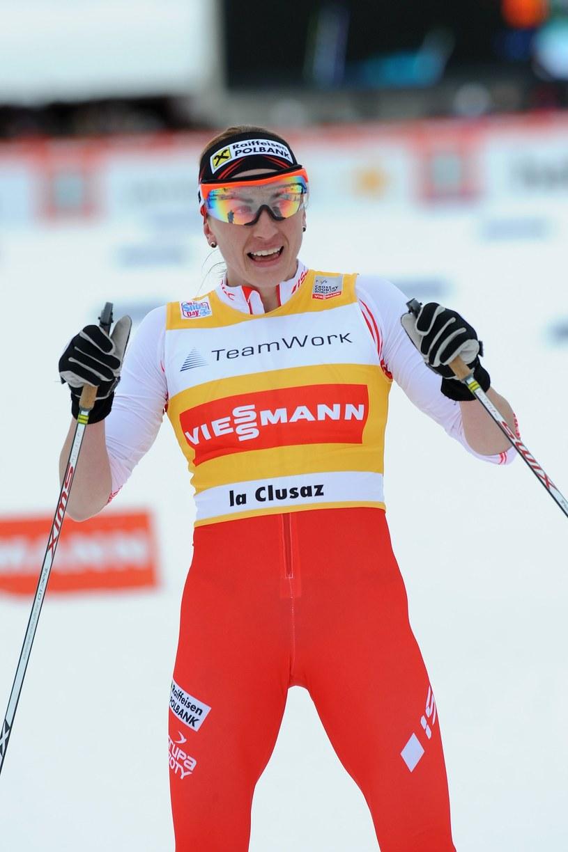Justyna Kowalczyk znowu wygrywa! /AFP