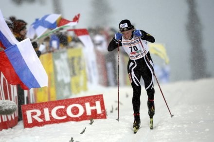 Justyna Kowalczyk. /AFP