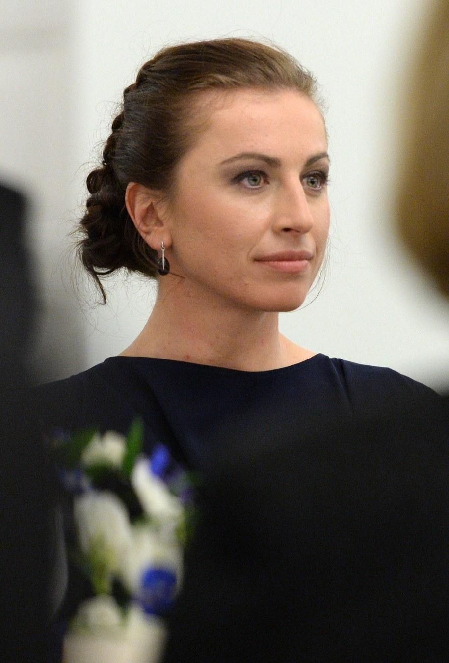Justyna Kowalczyk / Jacek Turczyk    /PAP
