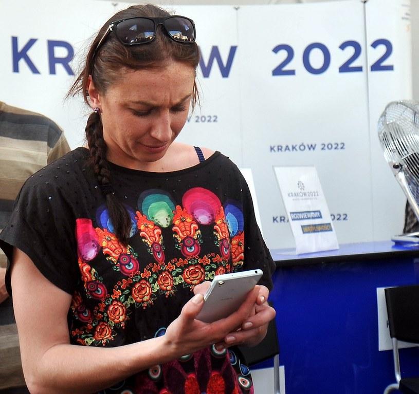 Justyna Kowalczyk /Lasyk /Reporter