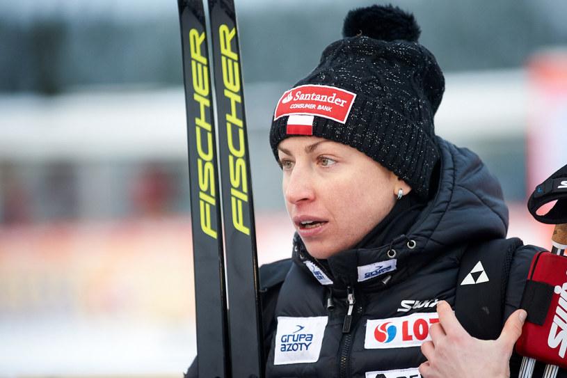 Justyna Kowalczyk /Łukasz Szeląg /Reporter