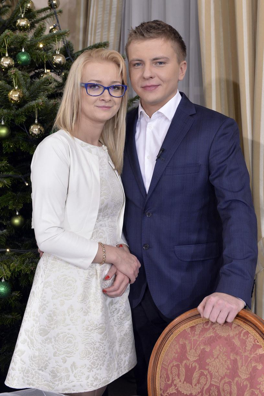 Justyna Labuda i Rafał Kowal /Gałązka /AKPA
